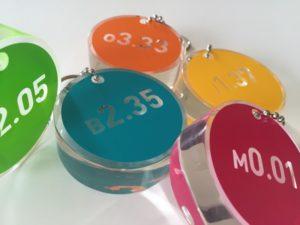 Des porte-clefs designés sur-mesure pour l'Espace Volta