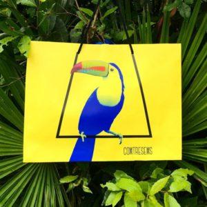 Sac collection 2017 toucan bleu pour Contresens