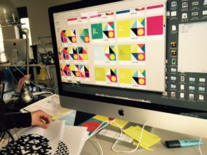 Études colorimétriques du futur catalogue Aplus